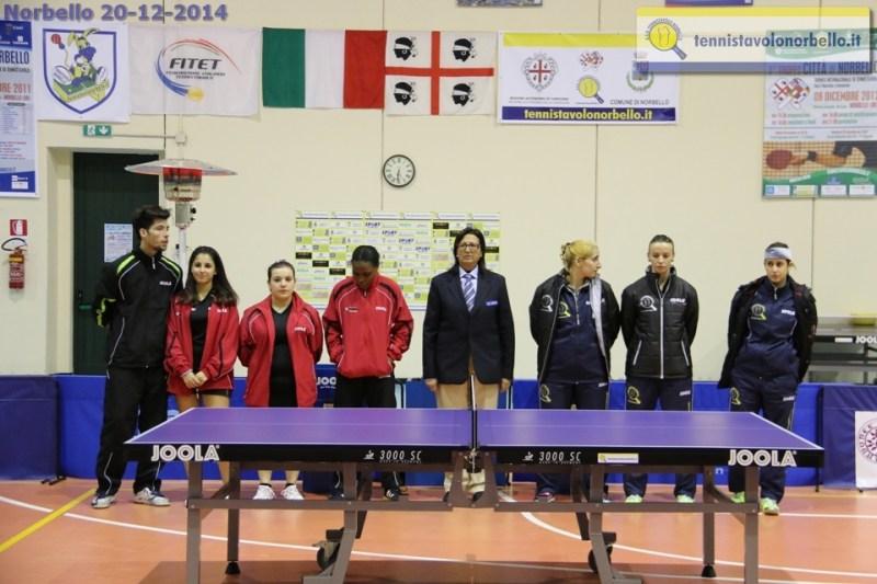 Tennistavolo Norbello 20-12-2014 - 2