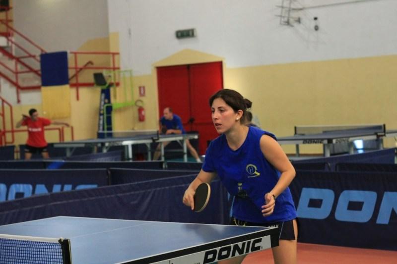 Eleonora Trudu Tennistavolo Norbello