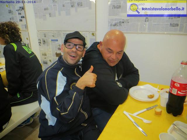 L'atleta paralimpico Mauro Mereu col fotografo Gianluca Piu