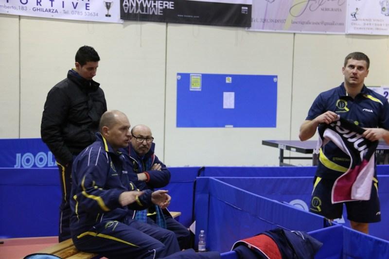Il team maschile (Foto Gianluca Piu)
