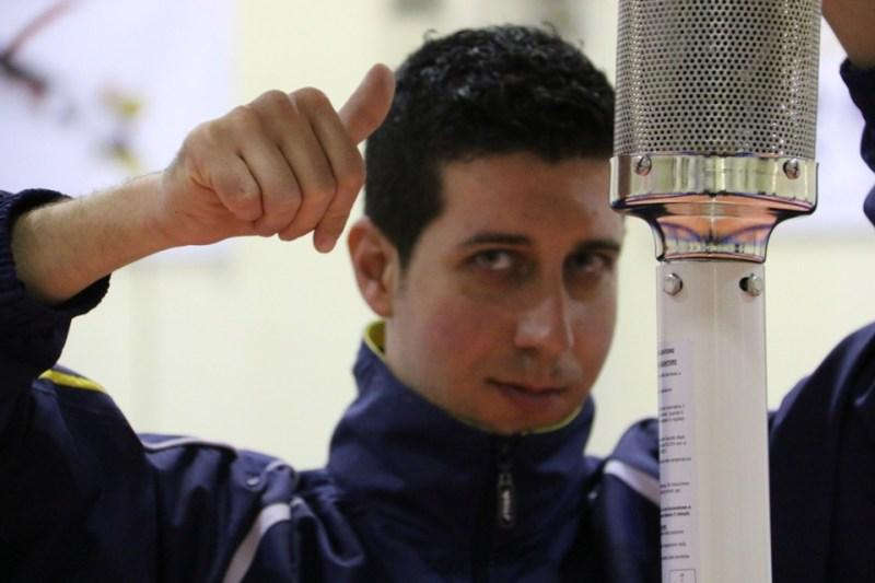 Daniele Sabatino ha voglia di riscossa (Foto Gianluca Piu)