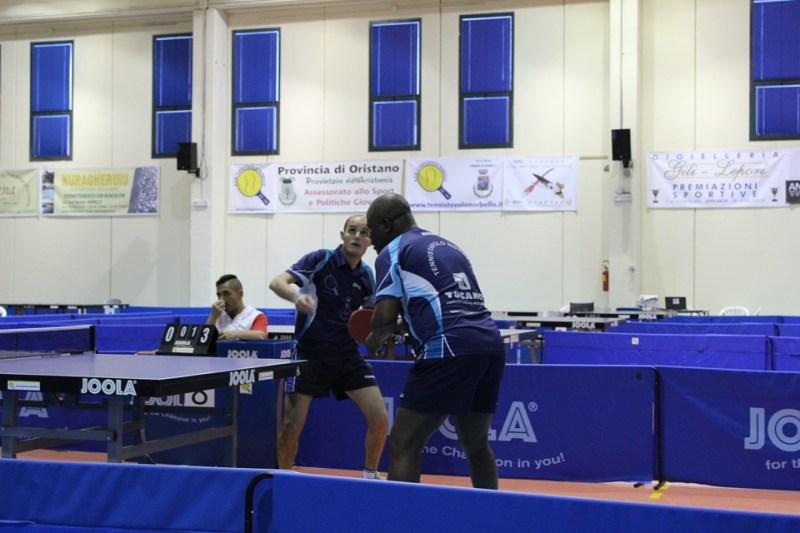 Gbenga Kayode e Federico Concas artefici della vittoria nella Coppa Sardegna 2016 (Foto Eleonora Piras)