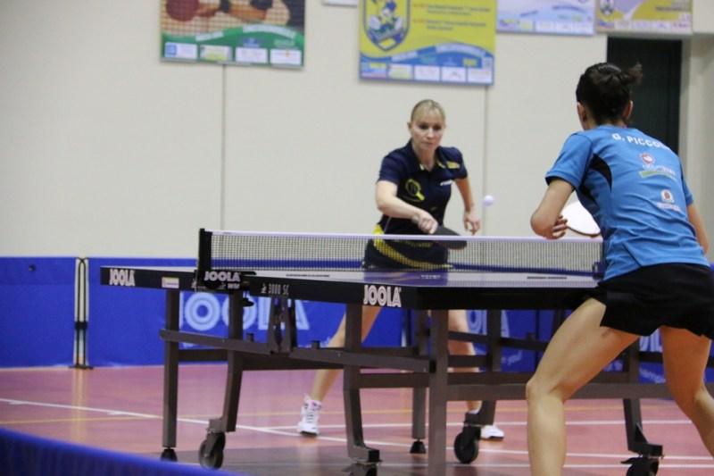 Irina Bàghina alle prese con Giorgia Piccolin (Foto Gianluca Piu)