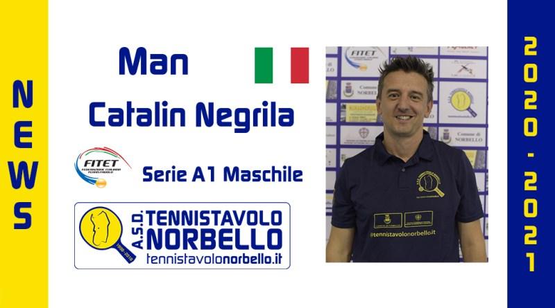 Terzo anno consecutivo con Catalin Negrila di cui apprezzeremo anche le doti allenatorie