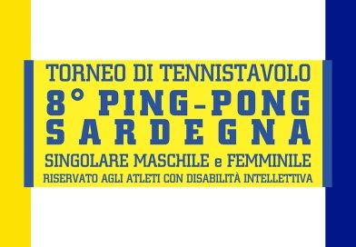 """Torneo di Tennistavolo """"8° Ping-Pong Sardegna"""" – 07 dicembre 2019"""