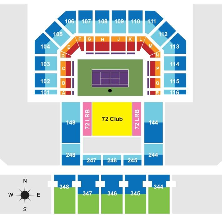 miami open seating guide | 2020 miami masters | championship