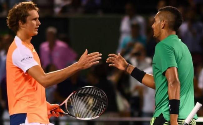 Alexander Zverev Nick Kyrgios Is The Real Champion Of