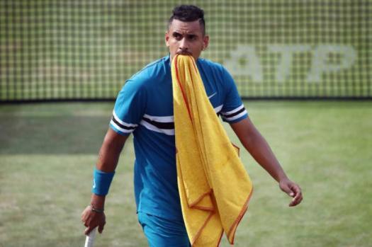 Nick Kyrgios is not a role model for kids, says Woodforde