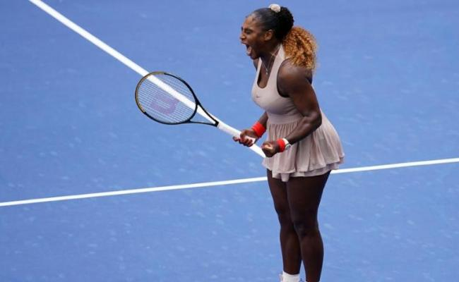 2020 Us Open Serena Williams Withstands Maria Sakkari To