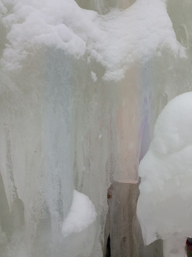 Stratton Ice Castle Lights