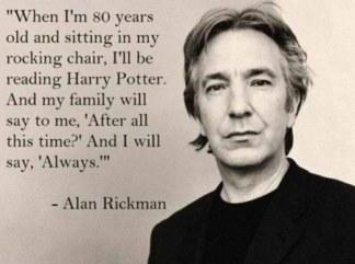 Fake Alan Rickman Quote