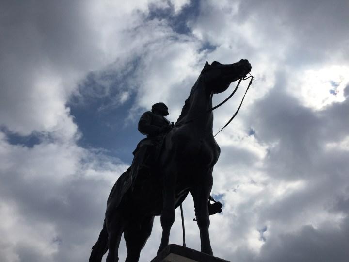 Statue at Gettysburg