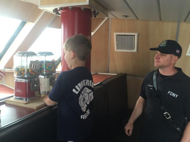 Fire Boat MandMs