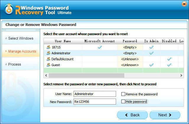 how to change microsoft account password on windows phone 8