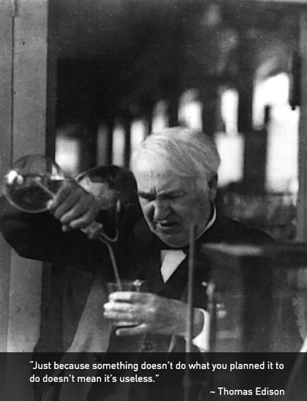 How to manage your AdWords account like Thomas Edison