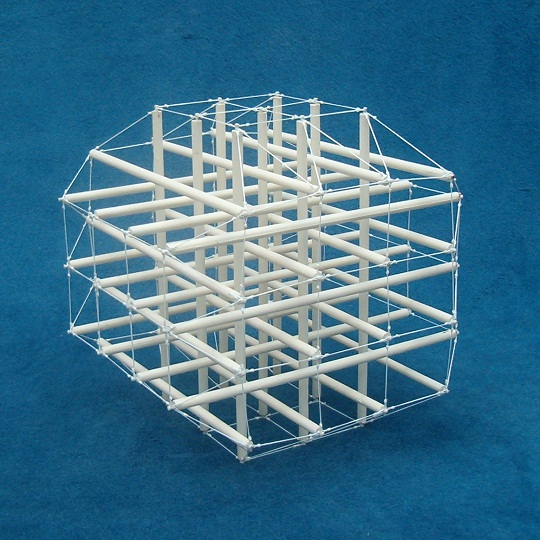 arm of chair poang accessories tensegrity, cube