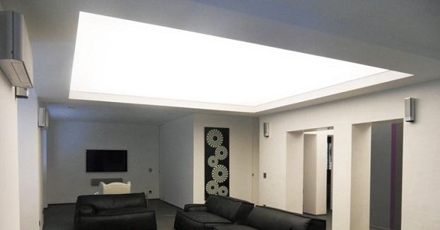 Soffitto basso illuminazione per ambienti pi ampi
