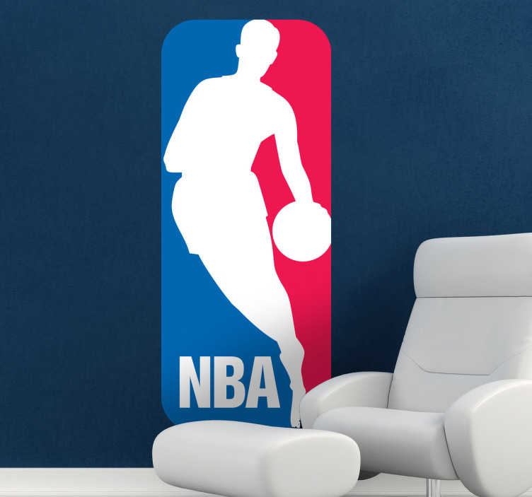 NBA Logo Sticker  TenStickers