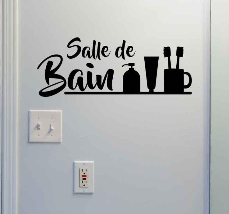 Stickers Salle De Bain Zen