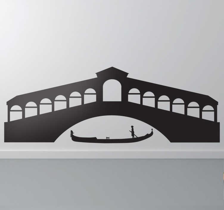 Sticker gondola Venezia  TenStickers