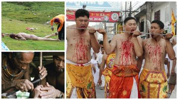 10 Weird Rituals From Around The World