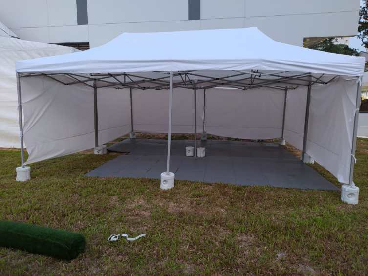 3m x 6m tents for quarantine