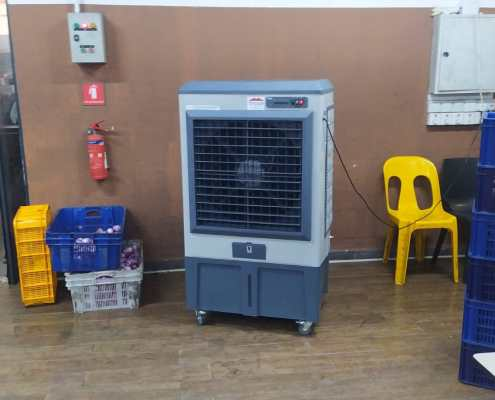 air cooler at factory site