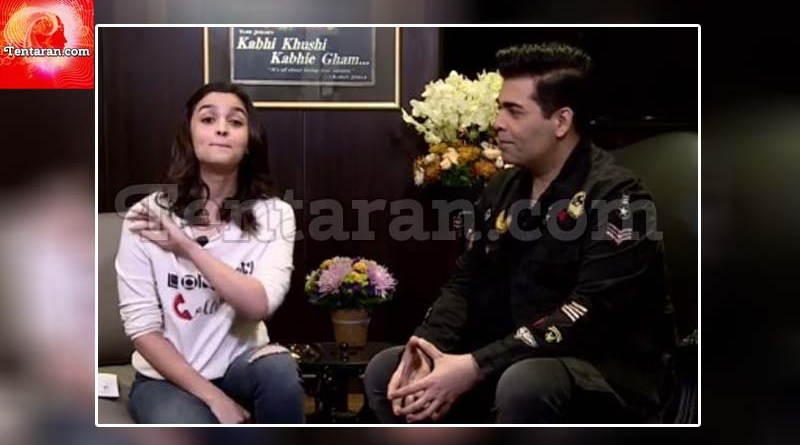 Alia Bhatt in conversation with Karan Johar on Facebook live