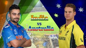 India vs Australia 2017 Schedule: Date, Time & Venue