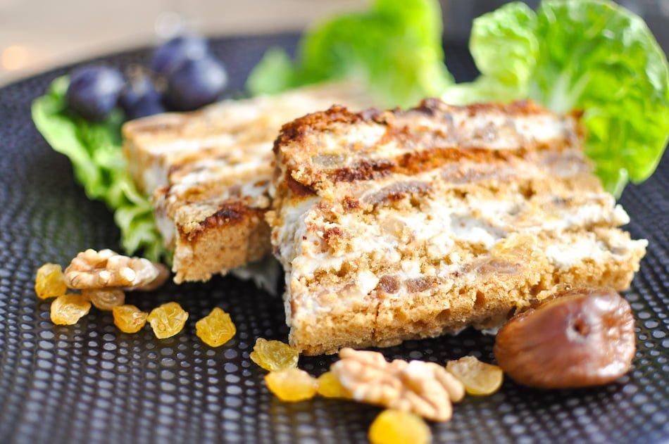 Ma recette de la terrine roquefort pain d'épices fruits secs