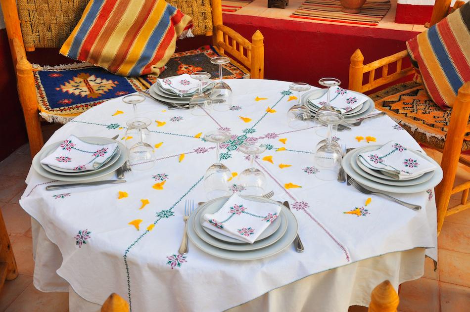 Table Dar Infiane Tata Maroc