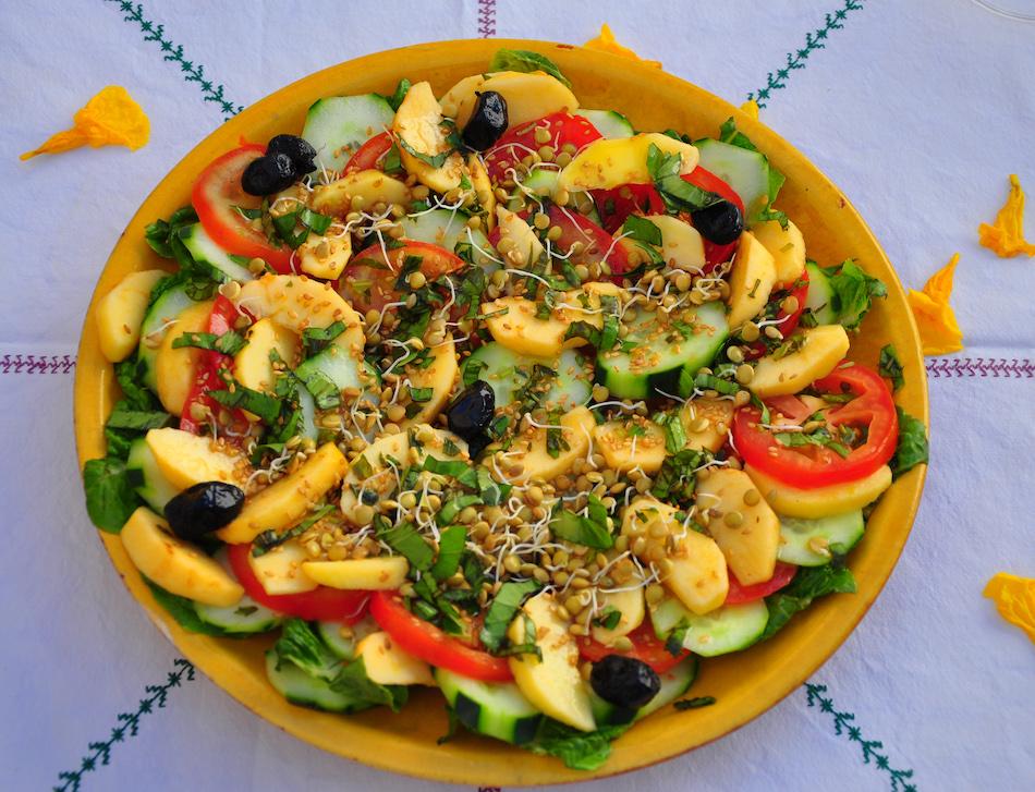 Salade marocaine Dar Infiane Tata Maroc
