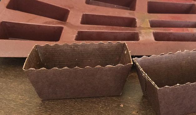 Financiers à la châtaigne et au chocolat