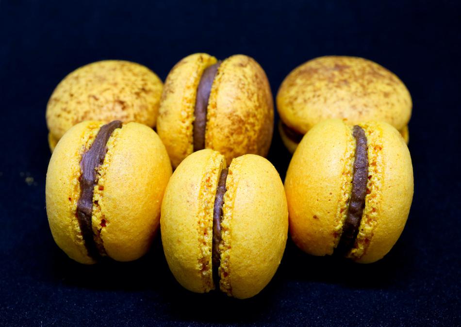 Mes macarons chocolat passion