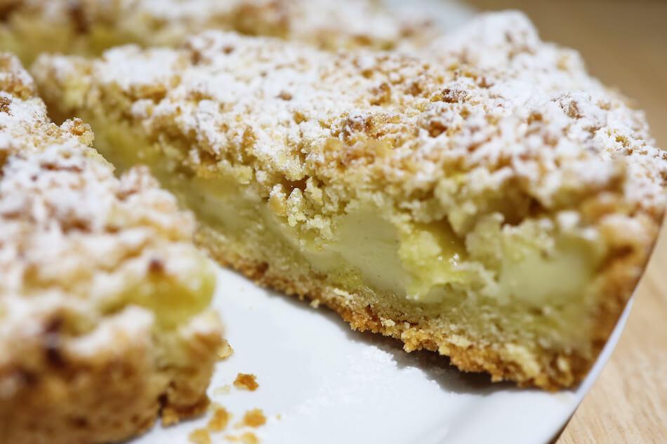 La tarte pomme vanille crémeuse et croustillante