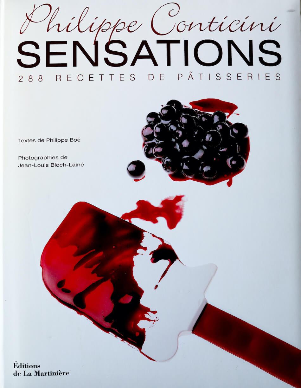 Livre Sensations de Philippe Conticini