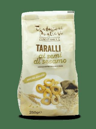 Linea Family - Taralli al sesamo