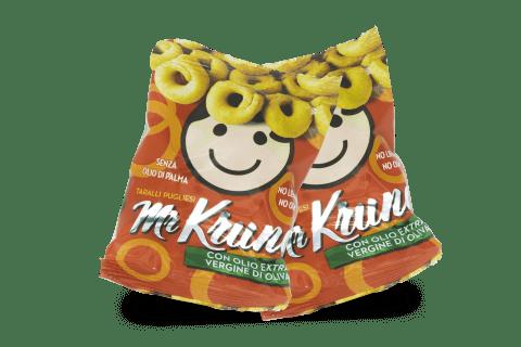 Linea Snack Mr. Krunc - Tarallini con Olio EVO