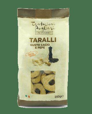 Linea Gourmet - Taralli Cacio e Pepe