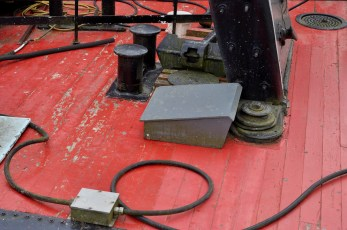 Photo © Kevin McConnellClose up of the deck on the Samson V Paddlewheeler.