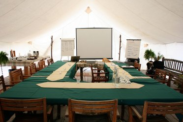meeting tent