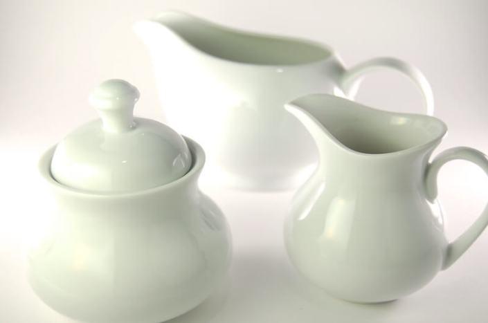 White China- Cream and Sugar Sets