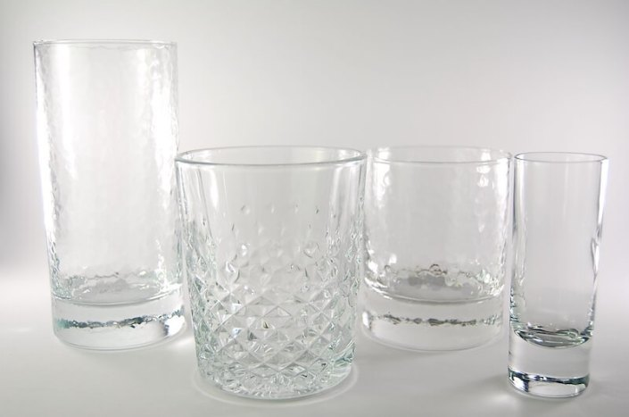 Table setting rentals- Cocktail Glassware