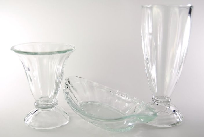 Table setting rentals- Dessert Glassware