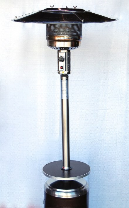 Rent Heaters- Triangle Patio Heater with Glass Tube