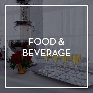 Event Rental- Food & Beverage