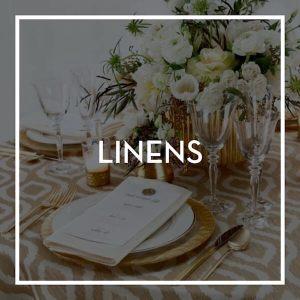 Event Rental- Linens
