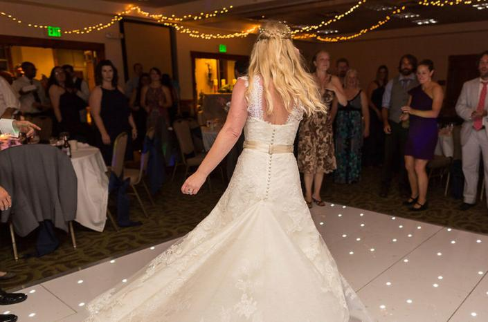 Wedding rentals-Starlight Dance Floor