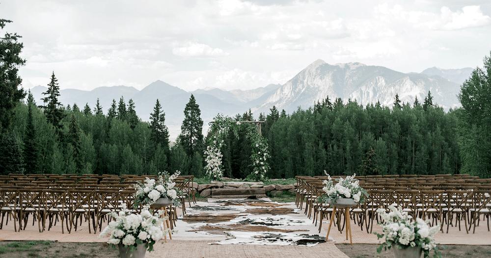 Superbe Boho Chic Crested Butte Wedding | Real Colorado Mountain Weddings