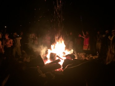 Bonfire at Trail Days